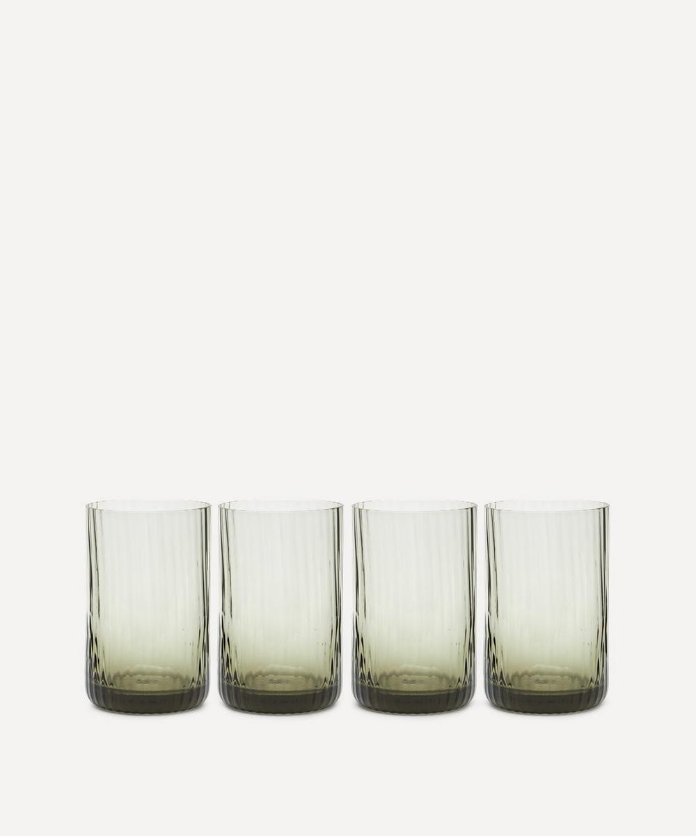 Soho Home - Meynell Ribbed Highball Glasses Set of Four
