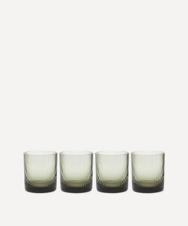 Soho Home - Meynell Ribbed Lowball Glasses Set of Four