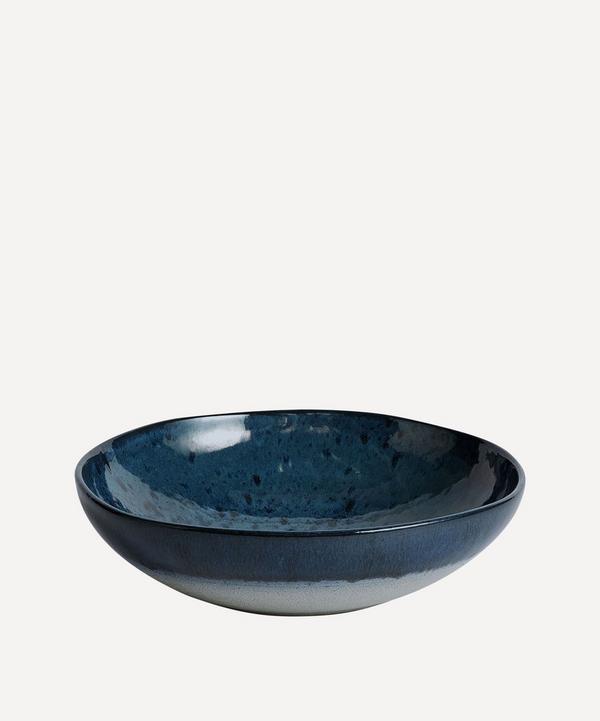 Soho Home - Nero Glazed Stoneware Pasta Bowl