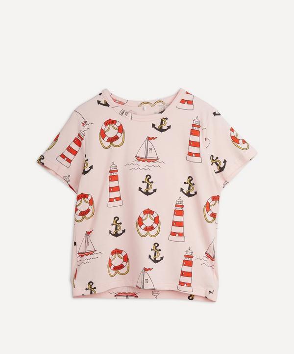 Mini Rodini - Lighthouse Short Sleeve T-Shirt 18 Months-8 Years