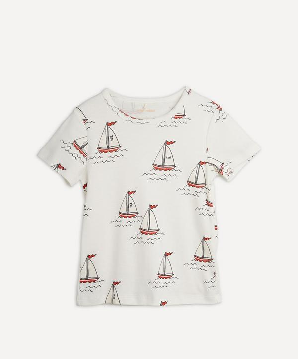 Mini Rodini - Sailing Boats Short Sleeve T-Shirt 18 Months-8 Years