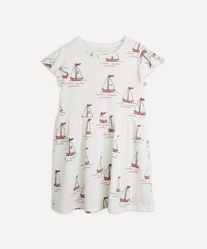 Sailing Boats Dress 18 Months-8 Years