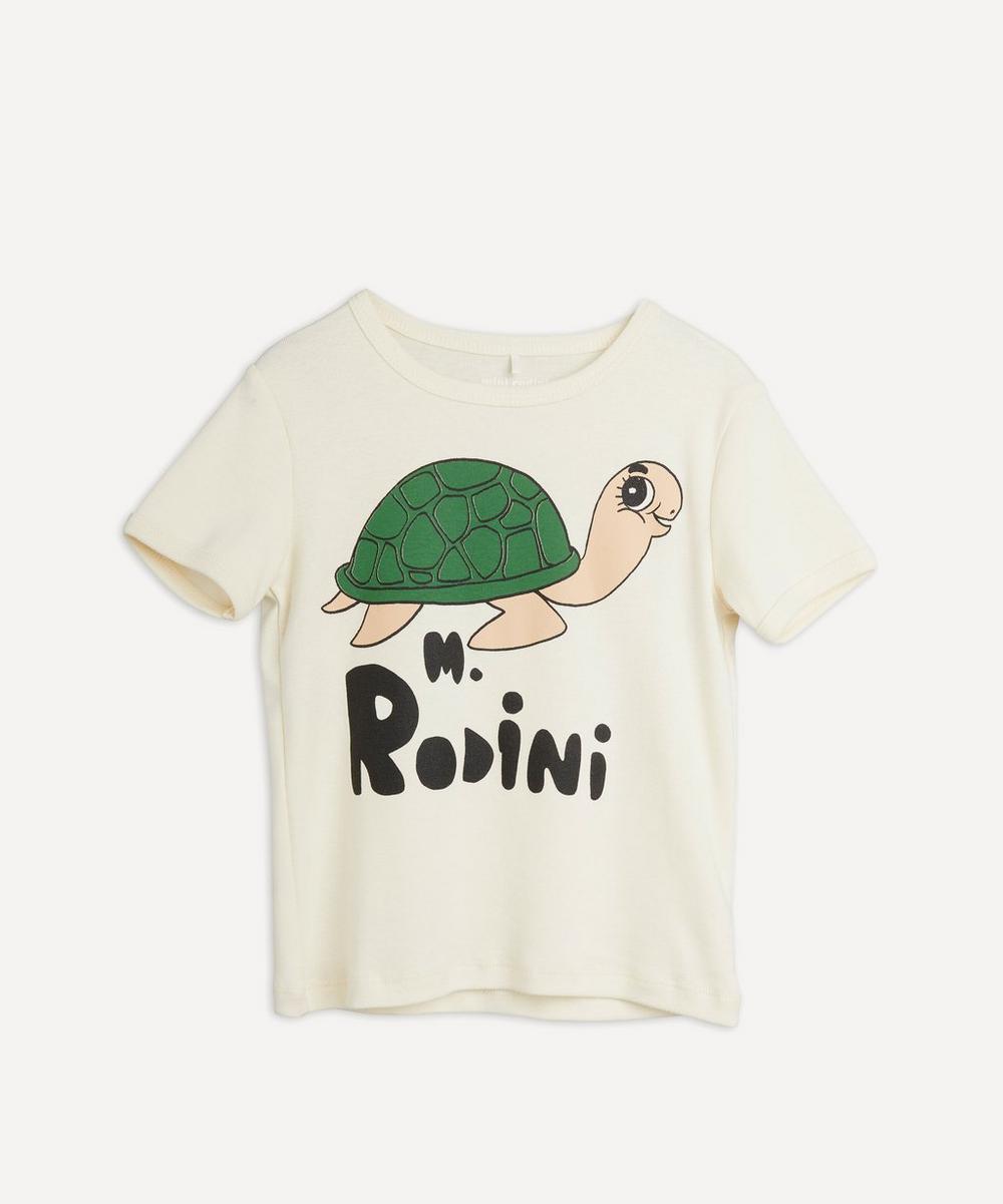 Mini Rodini - Turtle Short Sleeve T-Shirt 18 Months-8 Years