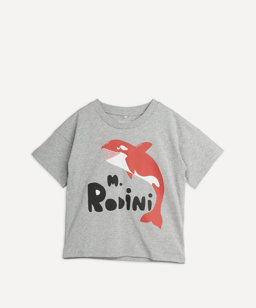 Mini Rodini - Orca Short Sleeve T-Shirt 18 Months-8 Years