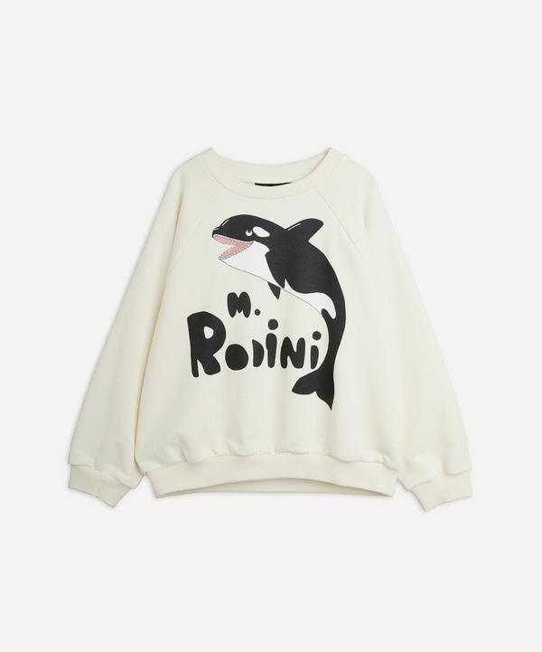 Mini Rodini - Orca Sweatshirt 18 Months-8 Years