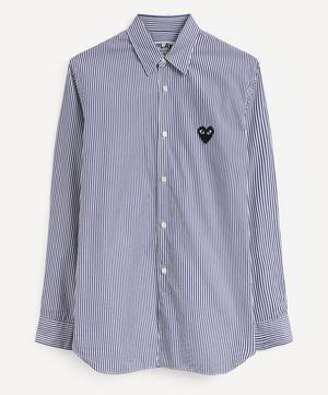 Heart Logo Patch Cotton T-Shirt