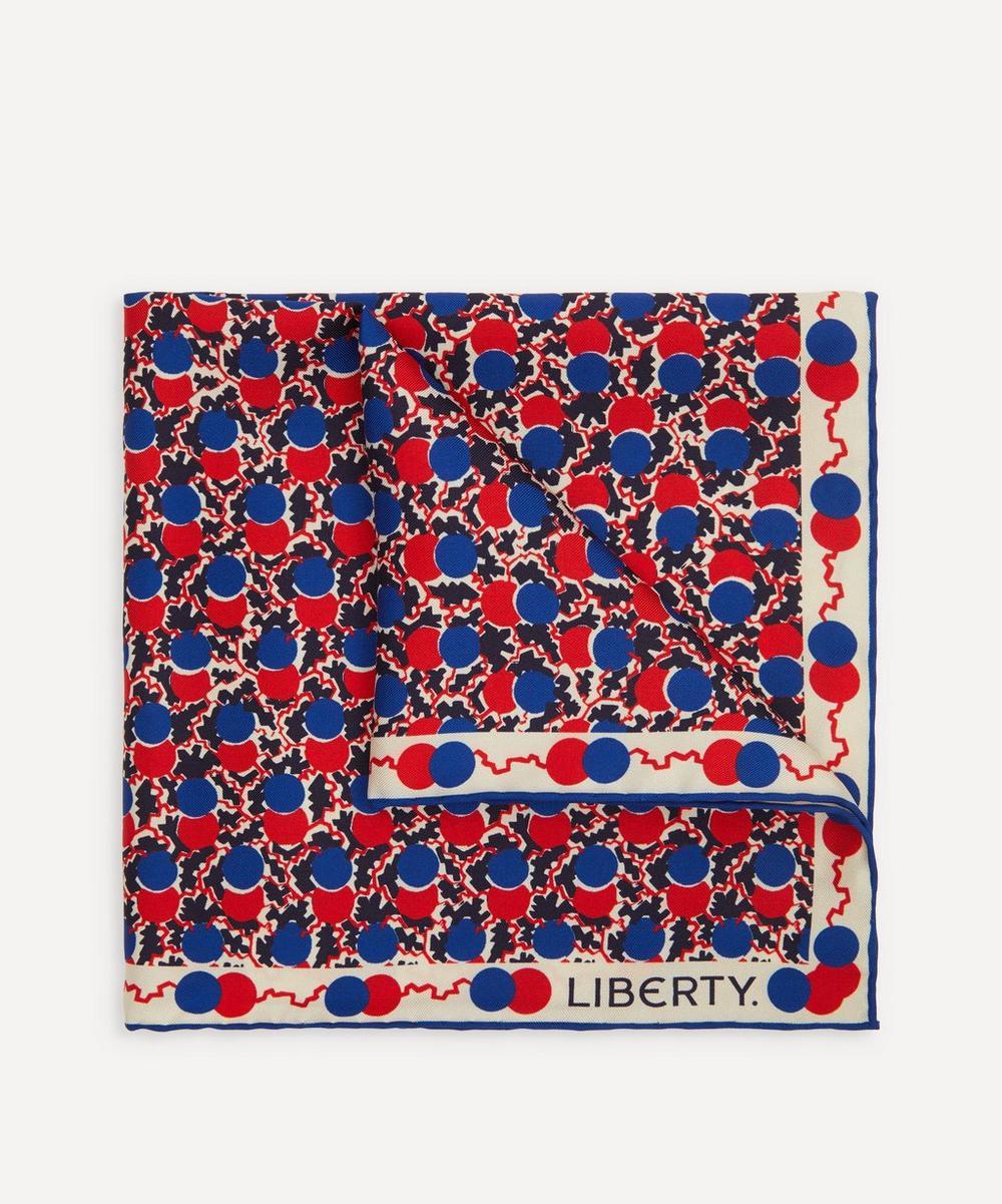 Liberty - Butterton Printed Silk Pocket Square