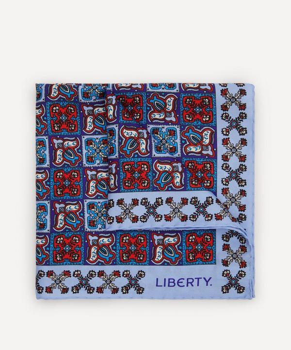 Liberty - Litton Printed Silk Pocket Square
