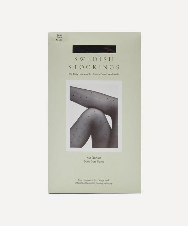 Swedish Stockings - Doris 40 Denier Recycled Dots Tights