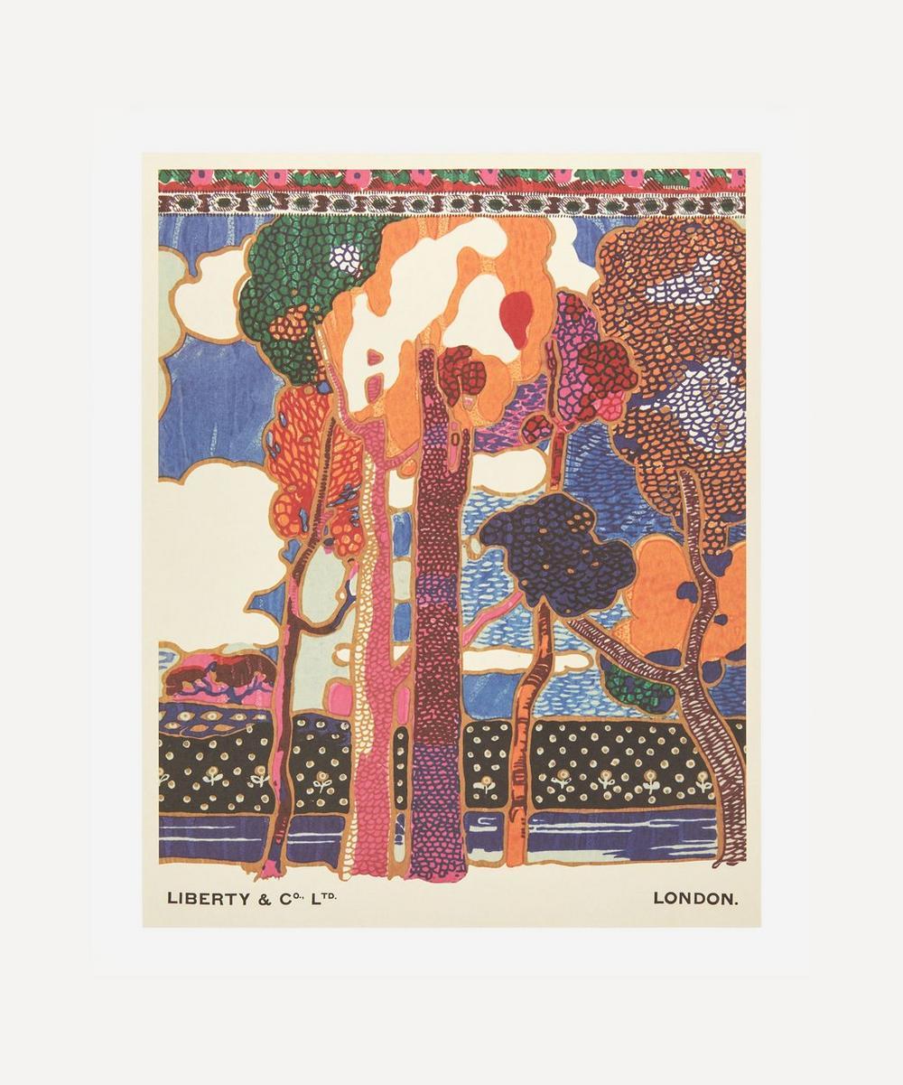 Liberty - Unframed Frieze Archive Liberty Art Print