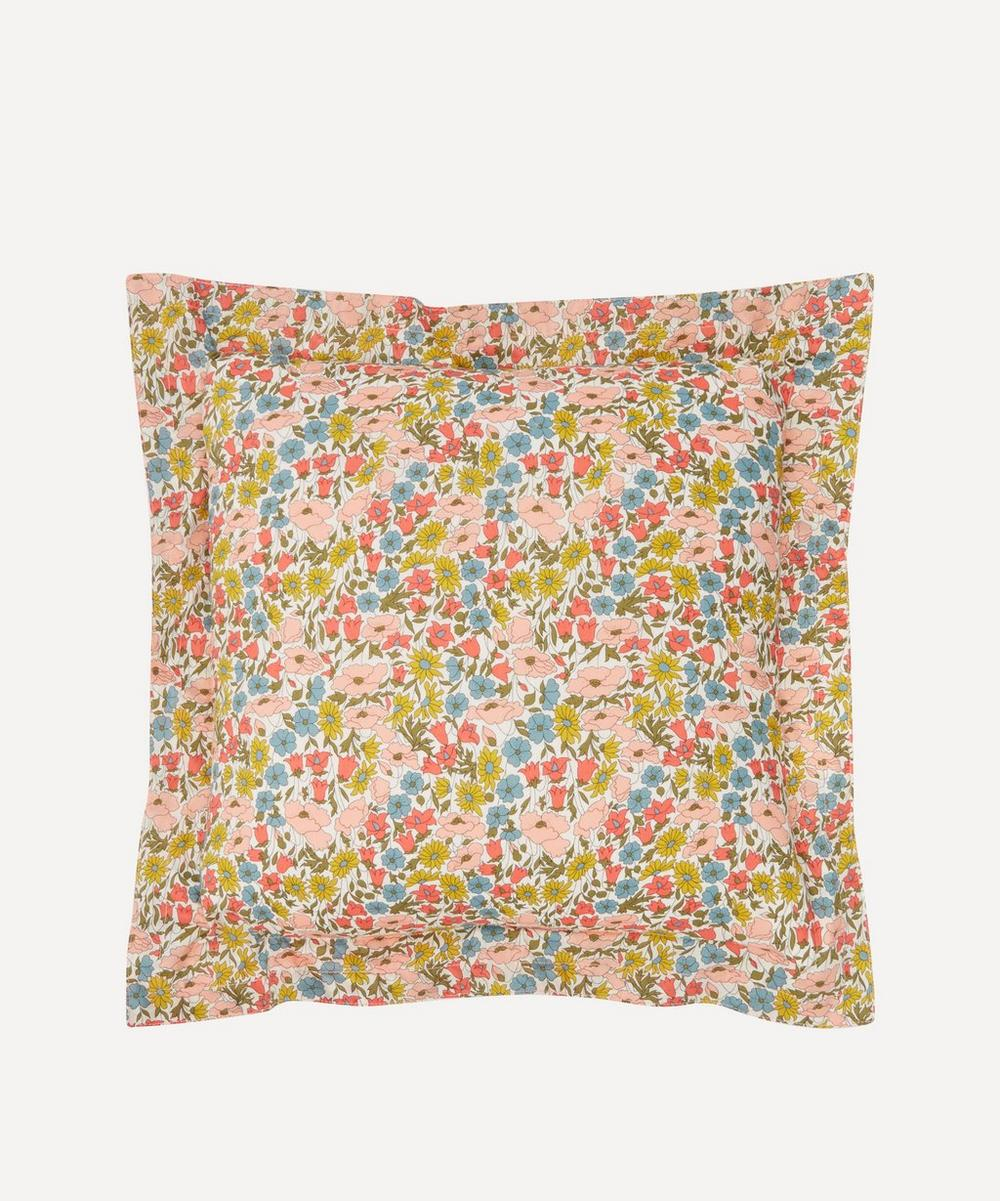 Coco & Wolf - Poppy and Daisy Stitch Edge Square Cushion