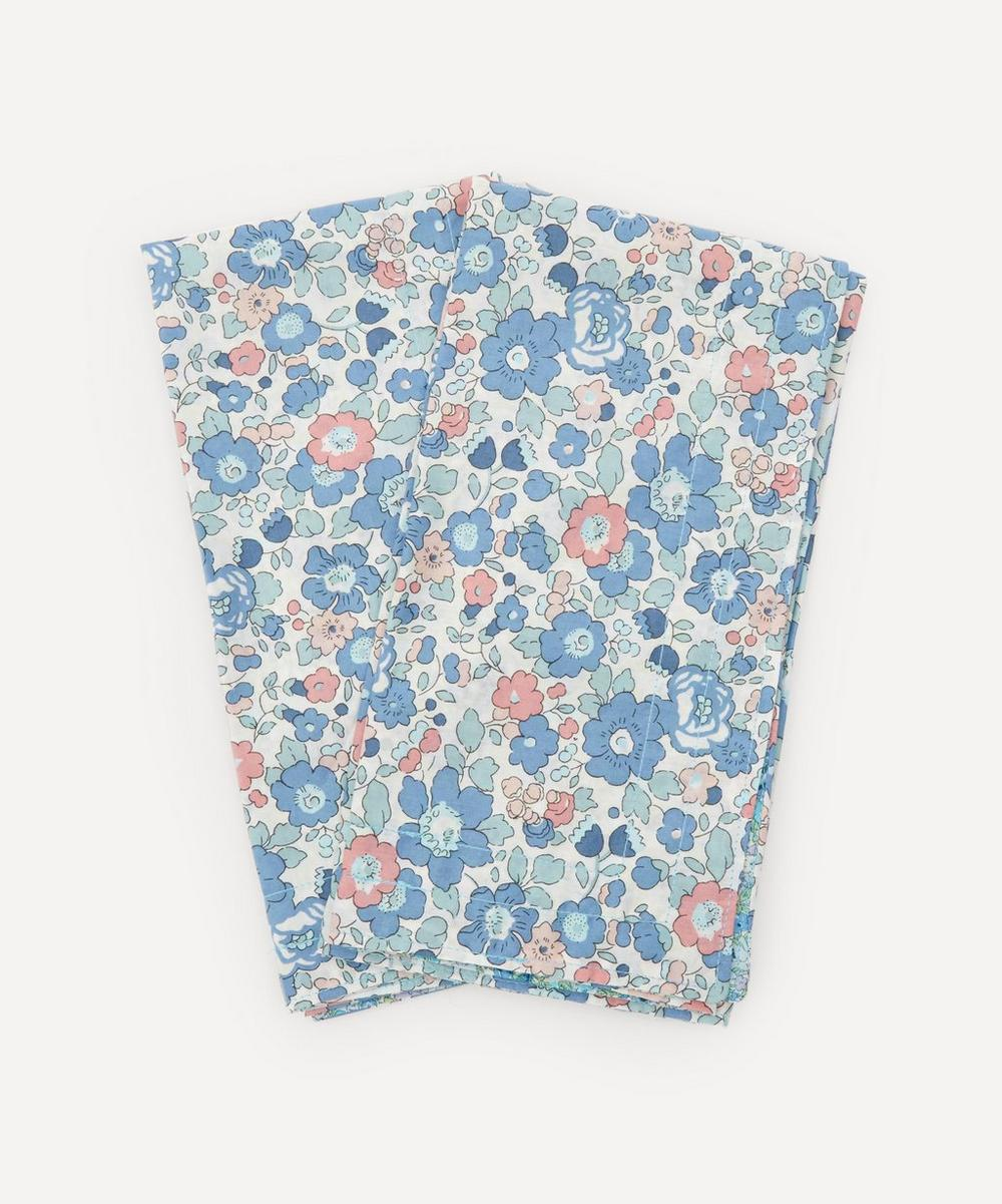 Coco & Wolf - Betsy and Amelie Stitch Edge Napkins Set of Two