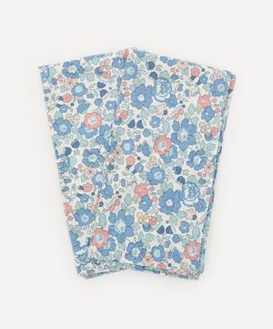 Betsy and Amelie Stitch Edge Napkins Set of Two