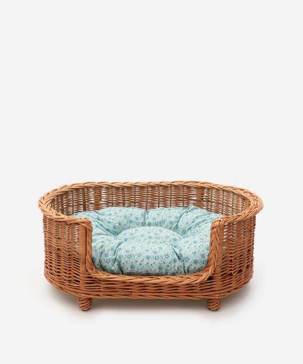 Coco & Wolf - Amelie Oval Rattan Dog Bed