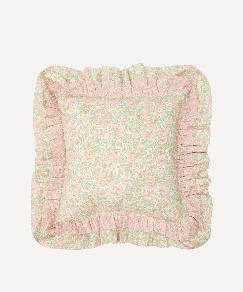 Coco & Wolf - Poppy and Daisy, and Capel Double Ruffle Square Cushion