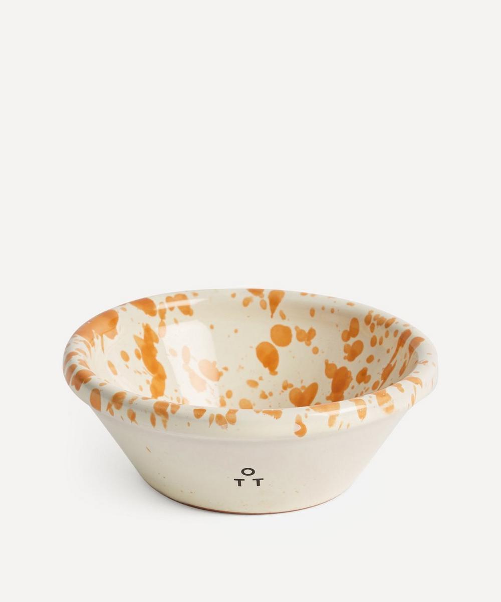 Hot Pottery - Nut Bowl Burnt Orange
