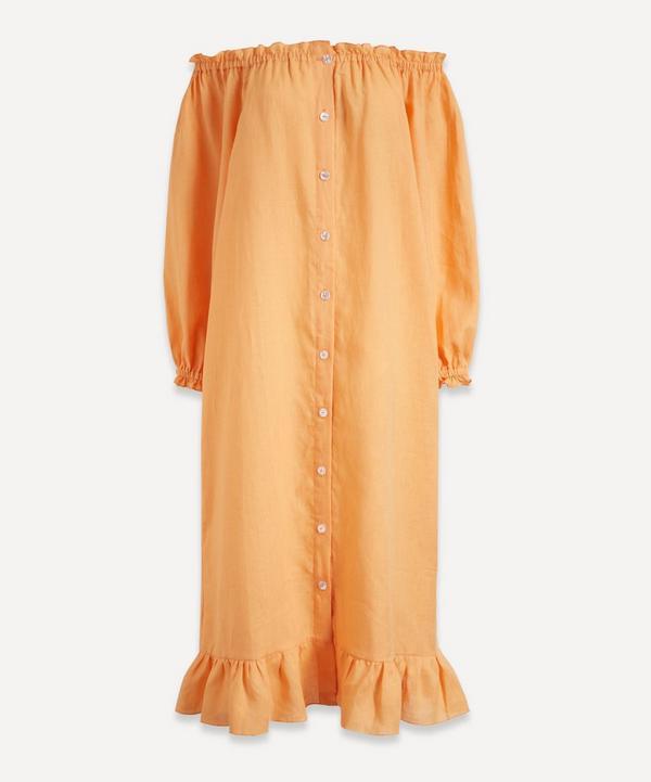 Sleeper - Loungewear Linen Midi-Dress
