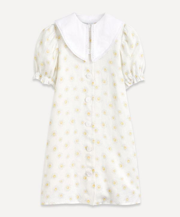 Sleeper - Marie Collar Linen Mini-Dress