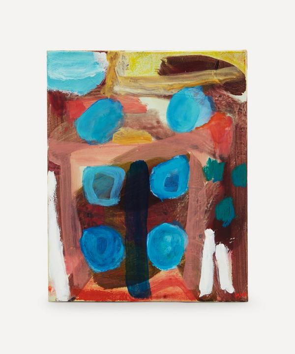 Molly van Amerongen - Blue Window Original Painting