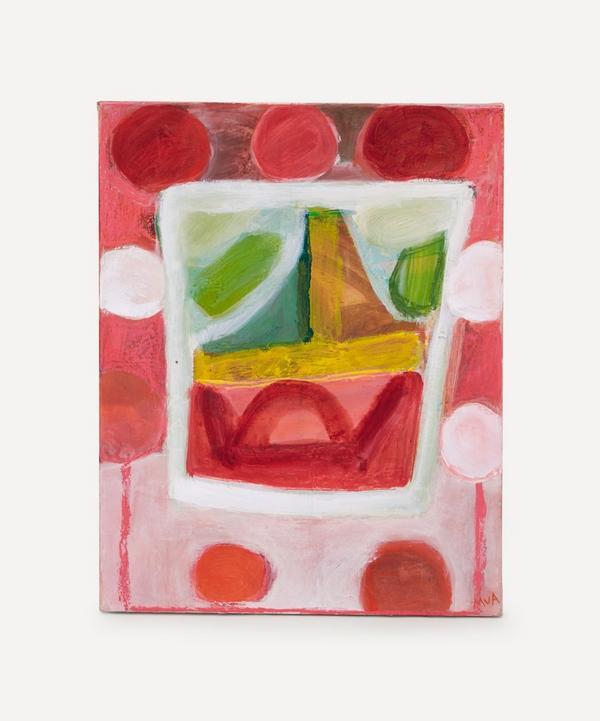 Molly van Amerongen - Pink City Textile Original Painting