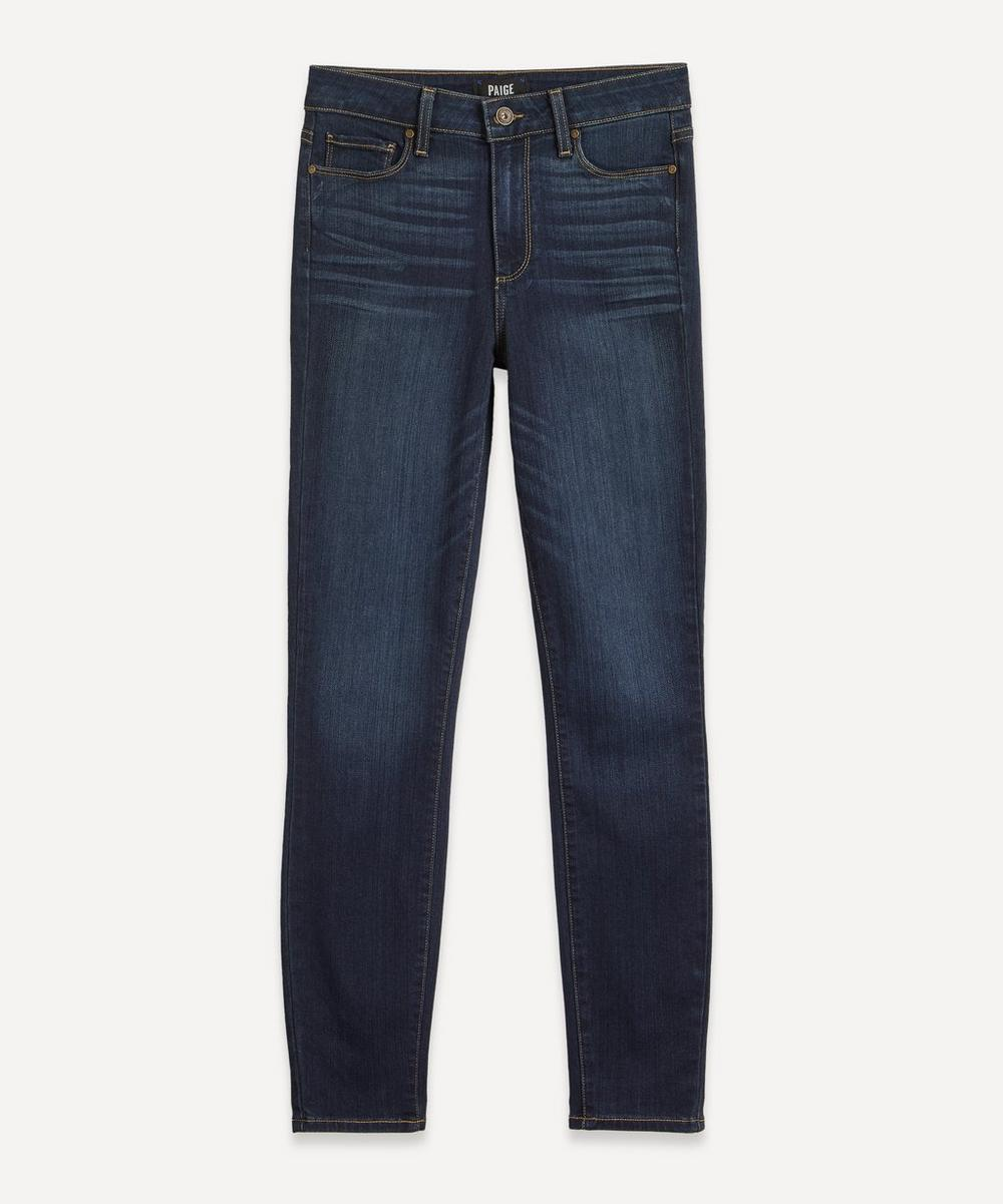 Paige - Hoxton Ankle Skinny Jeans
