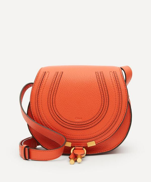 Chloé - Marcie Mini Leather Saddle Bag