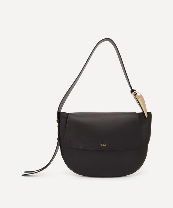 Chloé - Kiss Leather Hobo Handbag