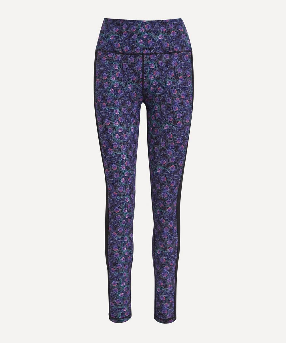 Liberty - Mila Printed Panel Stretch Leggings