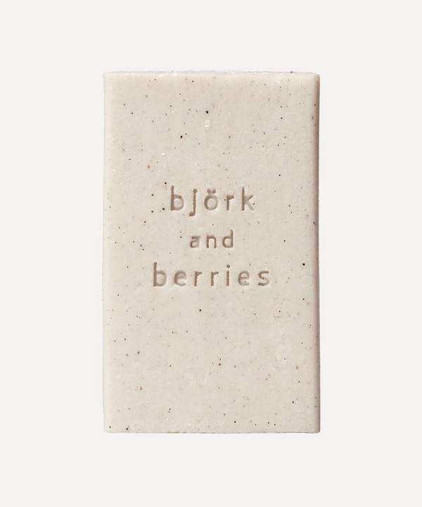 Björk & Berries - Scrub Soap 225g
