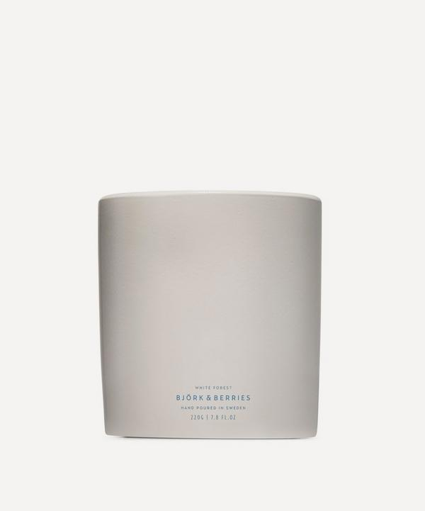 Björk & Berries - White Forest Scented Candle 220g