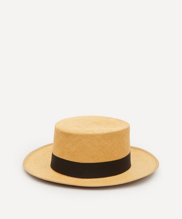 Christys' - Camila Wide Brim Panama Hat