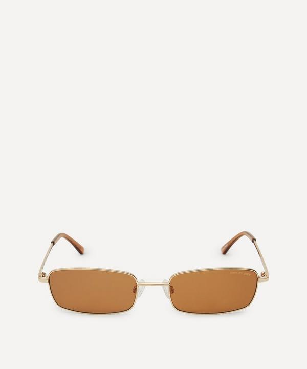 DMY BY DMY - Olsen Rectangular Metal Sunglasses