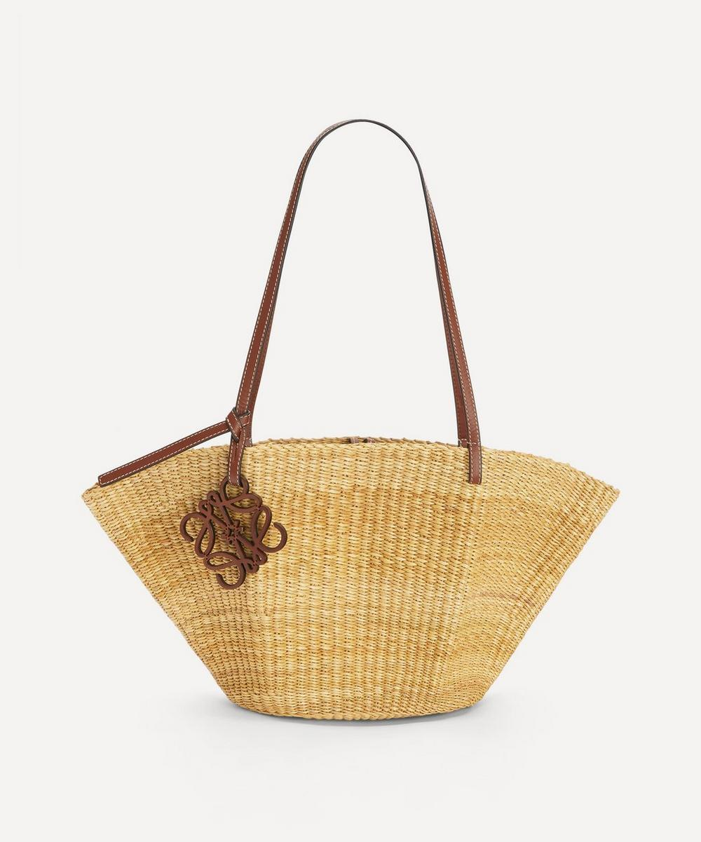 Loewe - Small Shell Basket Bag