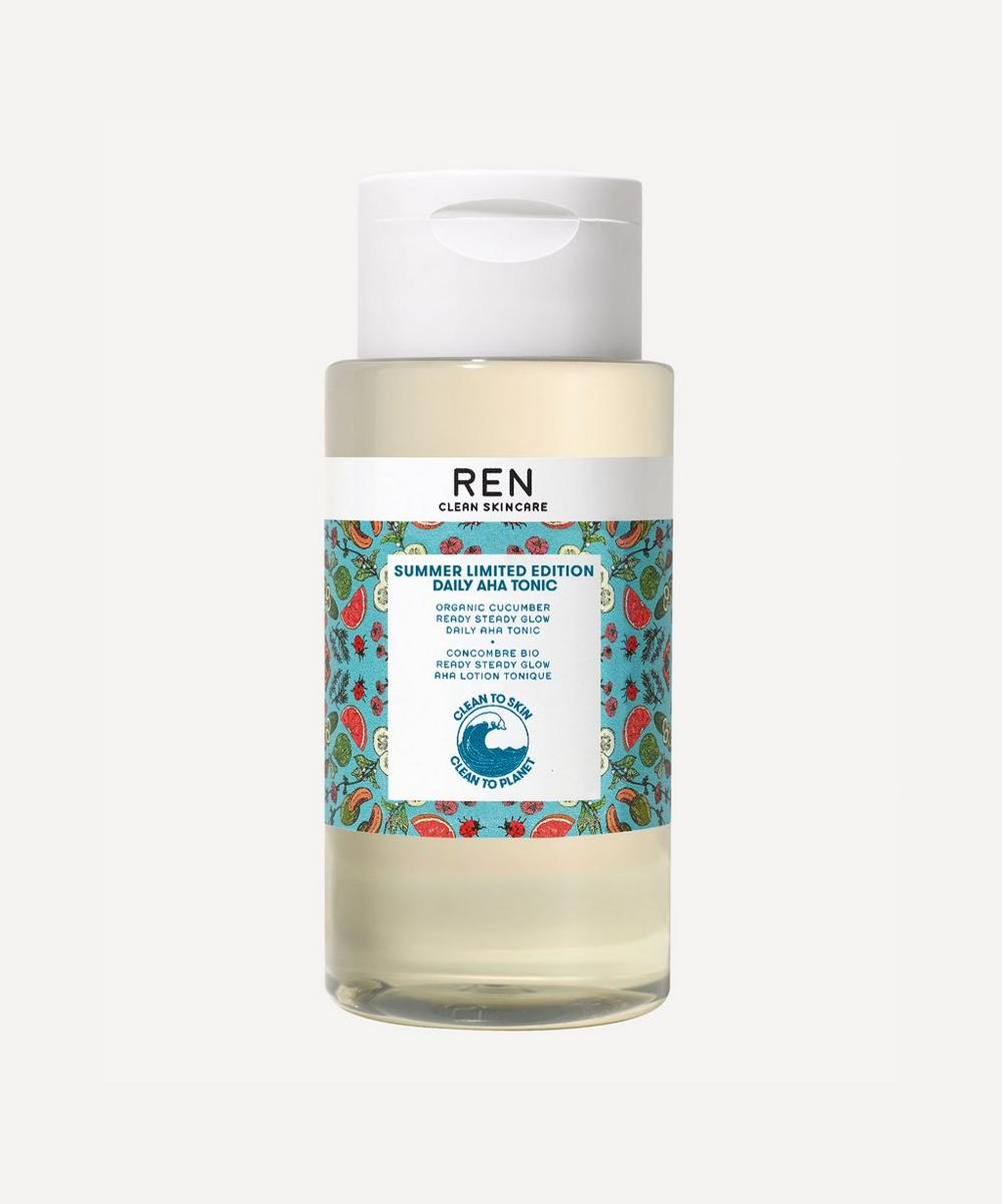 REN Clean Skincare - Summer Limited Edition Daily AHA Tonic 250ml