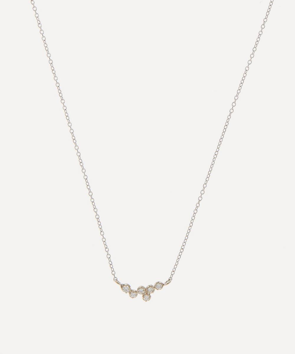 Satomi Kawakita - Gold White Diamond Hydra Pendant Necklace