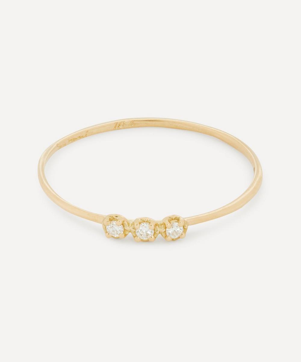 Satomi Kawakita - Gold Orion White Diamond Ring