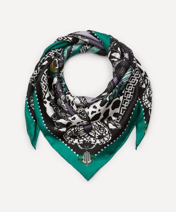 Emily Carter - The Jewel and Jaguar Silk Scarf