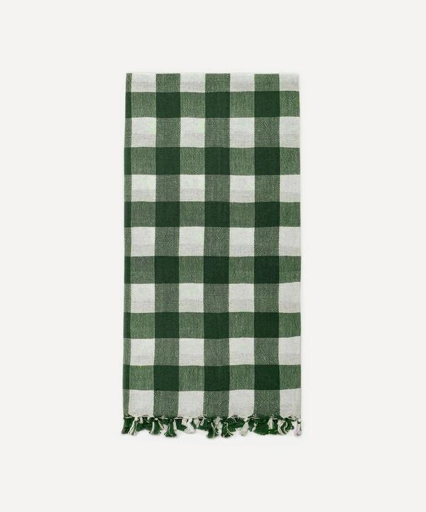 Heather Taylor Home - Hunter Gingham Cotton Tea Towel