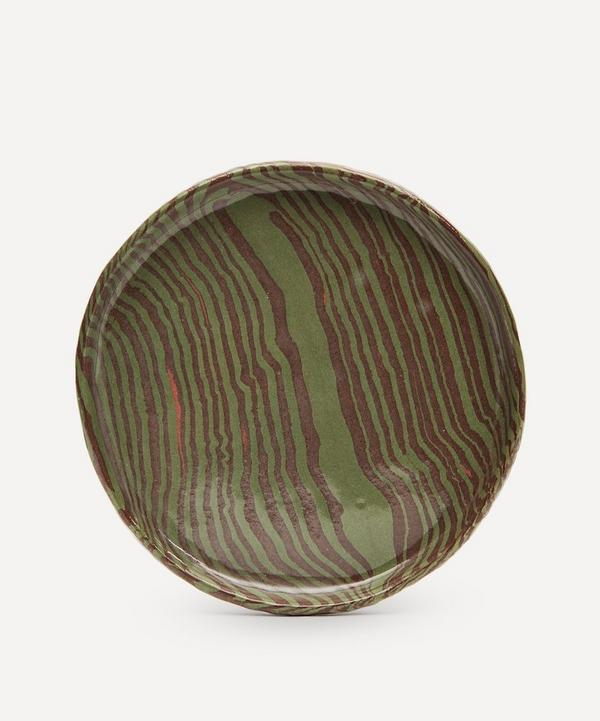 Henry Holland Studio - Green and Brown Side Plate
