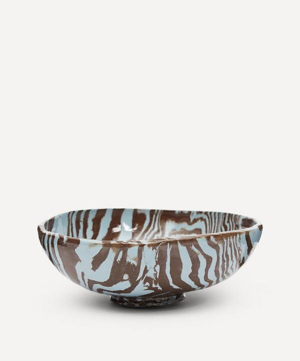 Henry Holland Studio - Brown and Blue Small Bowl