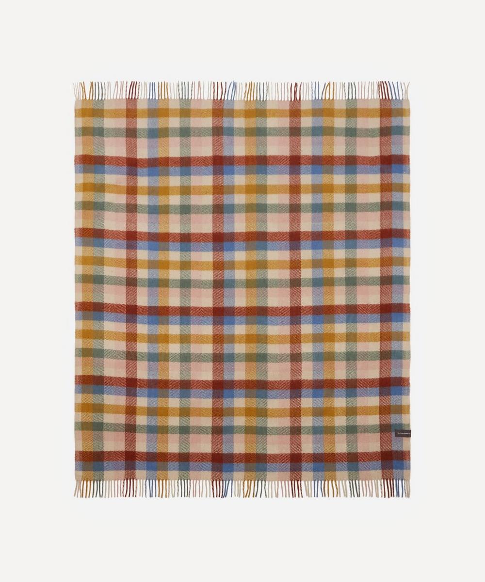 The Tartan Blanket Co. - Rainbow Check Recycled Wool Blanket