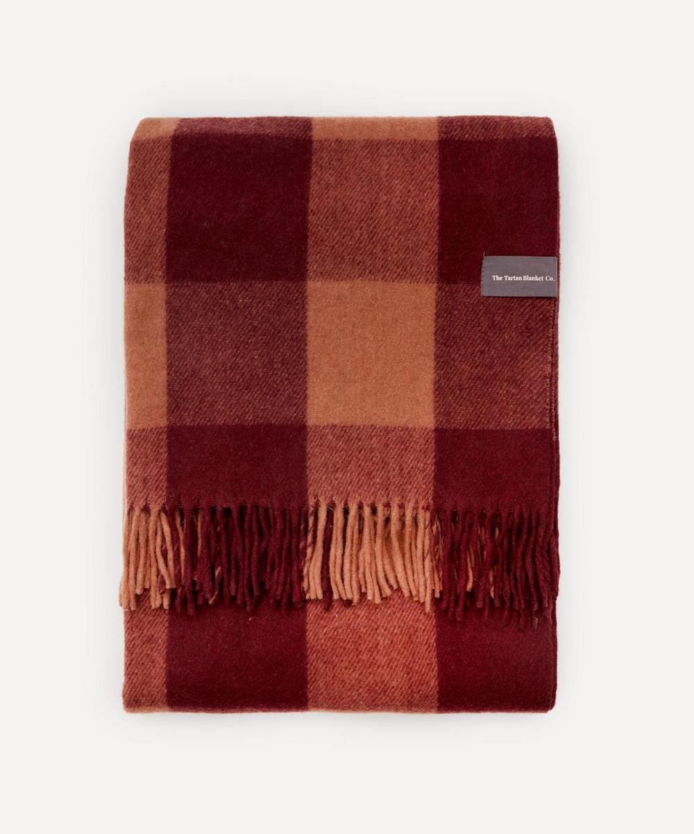 The Tartan Blanket Co. - Buffalo Check Recycled Wool Blanket
