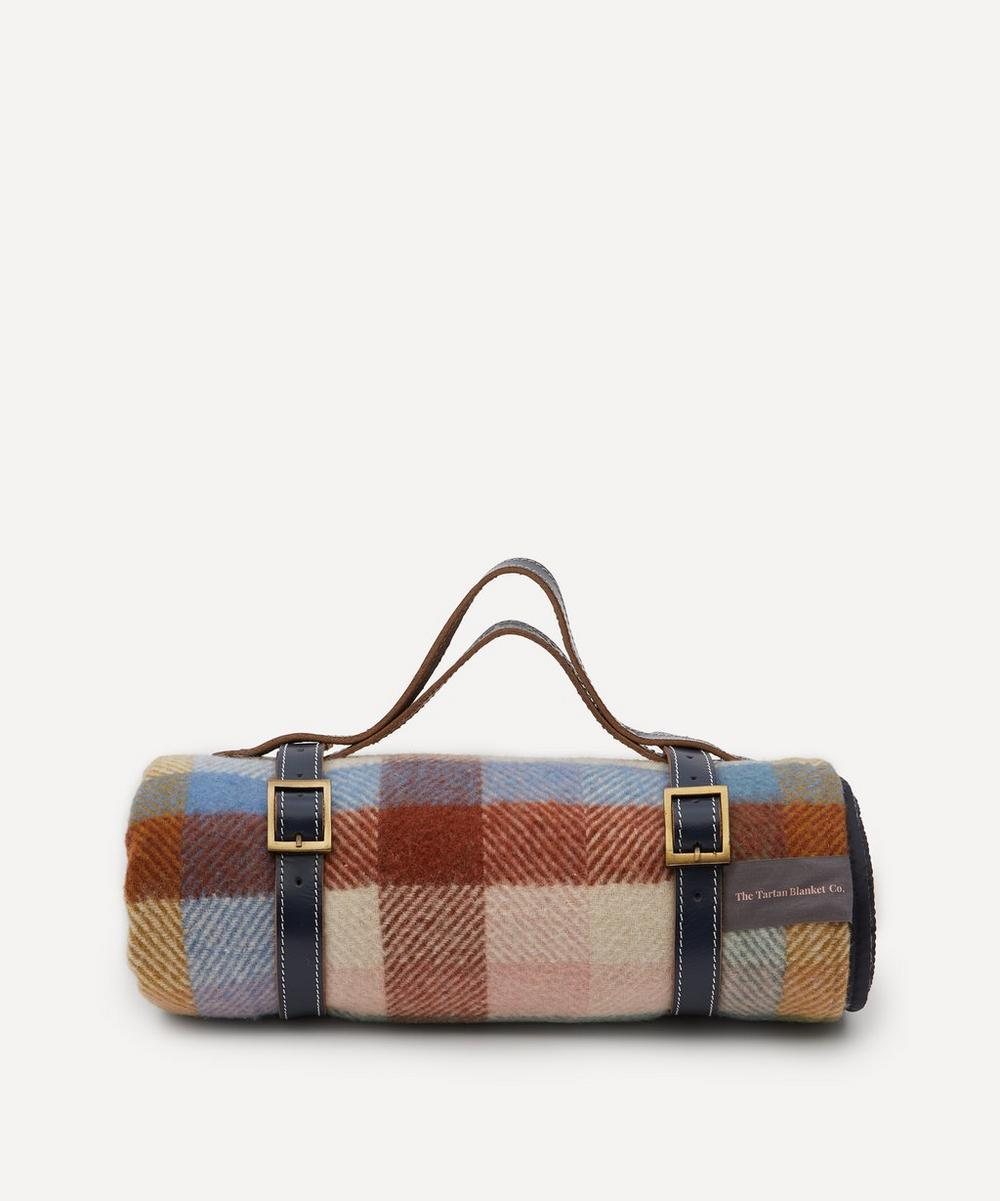 The Tartan Blanket Co. - Rainbow Check Recycled Wool Picnic Blanket