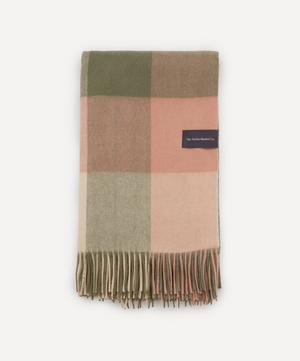 Check Lambswool Blanket