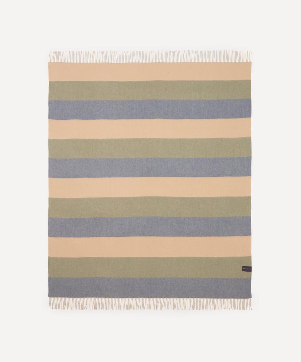 The Tartan Blanket Co. - Candy Stripe Lambswool Blanket