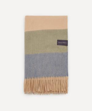 Candy Stripe Lambswool Blanket