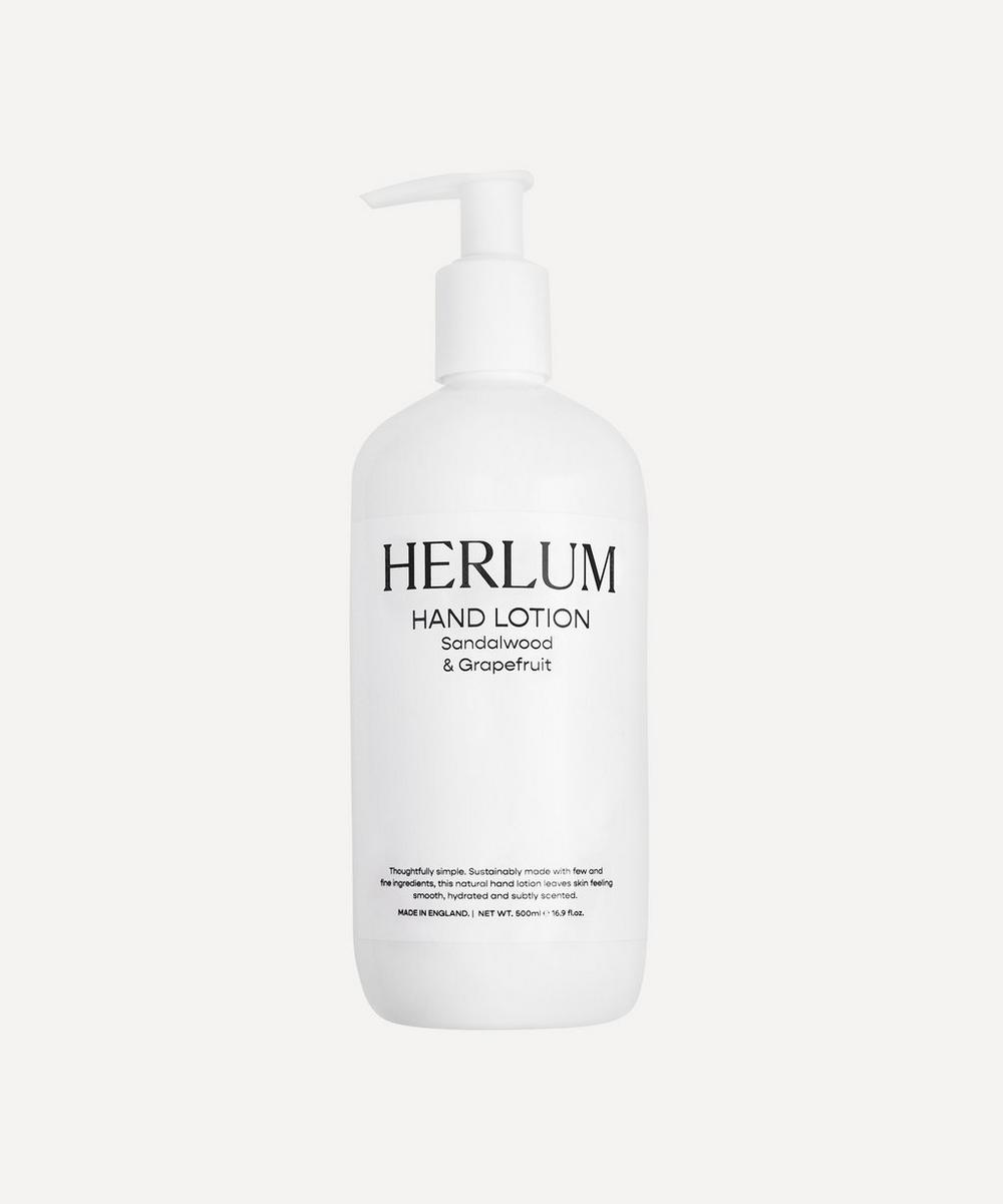 Herlum - Sandalwood & Grapefruit Hand Lotion 500ml