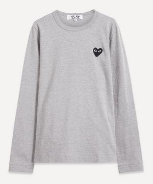 Heart Logo Long-Sleeve T-Shirt