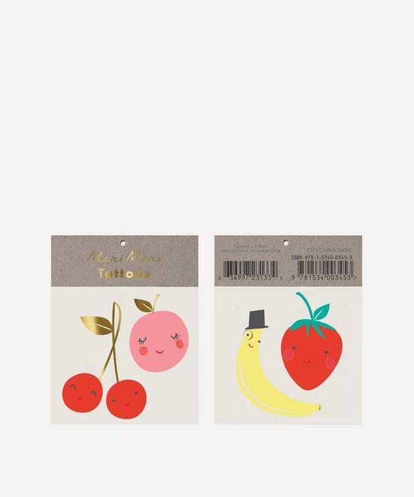 Meri Meri - Happy Fruit Small Tattoos