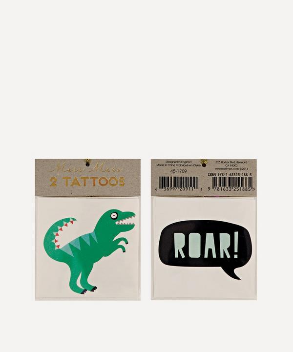 Meri Meri - Dino Small Tattoos